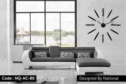 Unique Acrylic Wall Clock