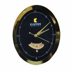 Metal Round Wall Clock