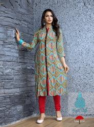 Printed Ladies Cotton Kurti