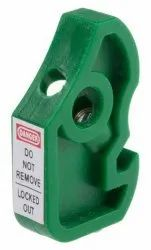 PVC Electrical Tiny Pattern Green Circuit Breaker Lockout, Electrical Purpose