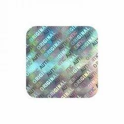 Square Hologram Sticker