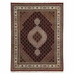Brown Printed Mahi-Tabrez-Red-x-Cream Carpet, for Home, Hotel