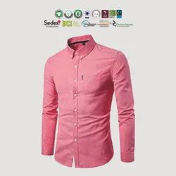 GRS Recycle Cotton Mens Casual Shirts