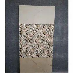3D Digital Wall Ceramic Bathroom Tiles, Thickness: 5-10 mm, Size: 600x600 mm