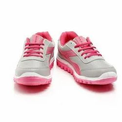 Women Light Grey Pink EVA Casual Canvas Shoes