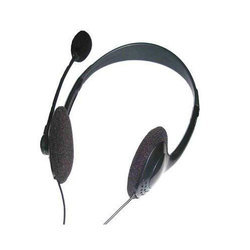 Black Computer Headphone