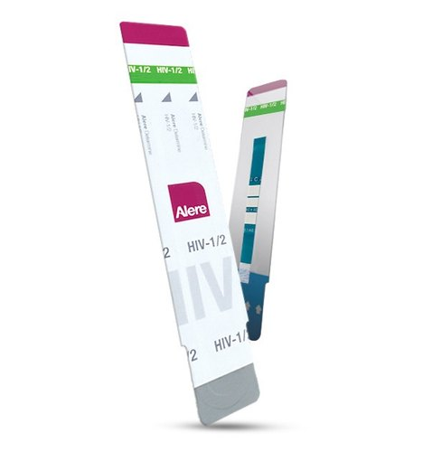 Card Lateral flow Alere Determine HIV-1/2 Test Kit, 15 Minute, for Clinical
