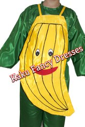 Kids Banana Cutout Costume