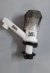 PVC Pillar Tap(Crystal Handle)