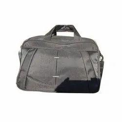Polyester Black Office Bag, Capacity: 10-15 Kg