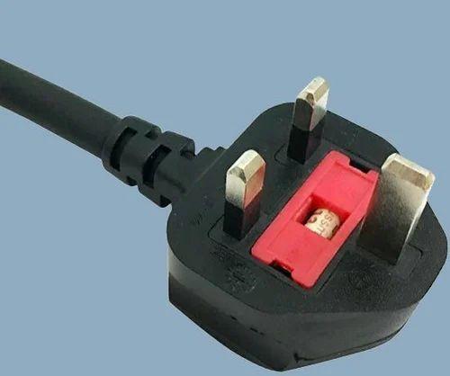 Uk Type International Fused Plug Power Cord At Rs 105