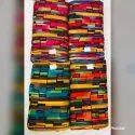 Abstract Print Rayon Fabric