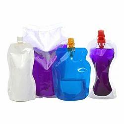 Plastic Transparent Shape Pouches, For Packaging, Capacity: 1 Kg