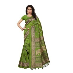 Fancy Silk Sarees with Tassels