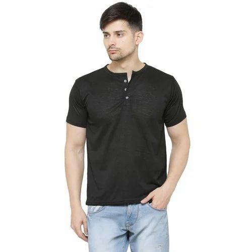 2be717b161 Mens Henley T Shirt
