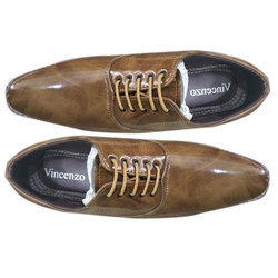 Lace Up Leather Mens Office Wear Shoes
