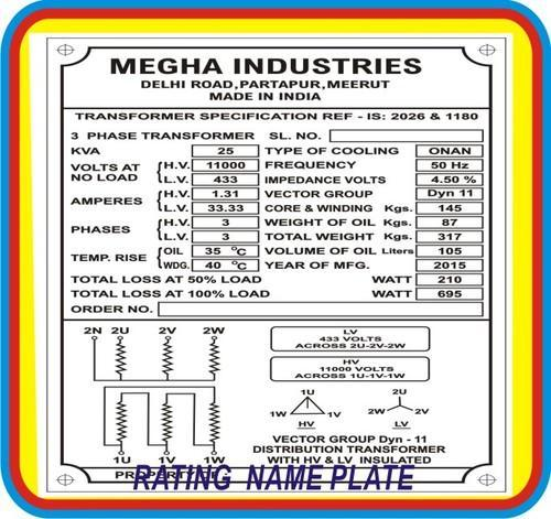 Aluminium name plate transformers rating diagram aluminium name aluminium name plate transformers rating diagram ccuart