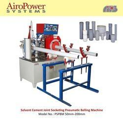 Automatic Solvent Cement Socket Belling Machine