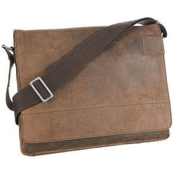 Brown Promotional Leather Side Bag