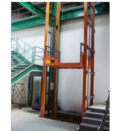Hydraulic Goods Lift Industrial Elevator Manufacturer From Ghaziabad