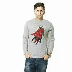 Casual Wear Full Sleeves T Shirt