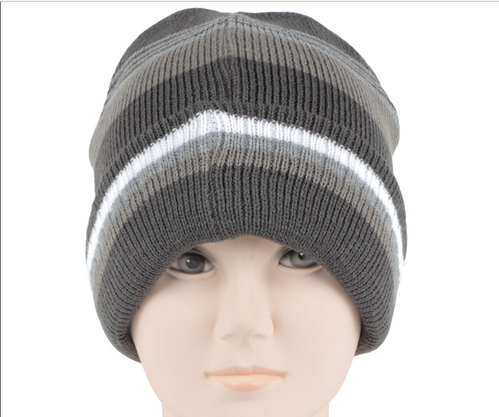 d1172f85380 Caps - RMW6Z14010 Mens Woolen Striped Knitted Cap Retailer from Greater  Noida