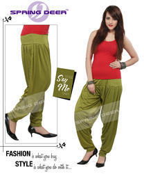 Mehndi Green Patiala Pant