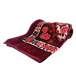 Floral Print Single Bed Blanket 104