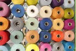 Dyed Spun Polyester Yarn