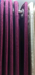 Cotton Plain Designer Curtain, For Door, Length: 2.2 Meter