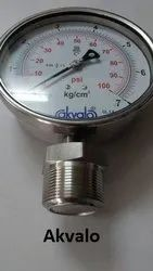 Flush Type Threaded Pressure Gauges