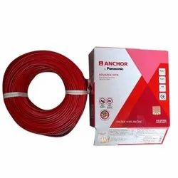 Anchor Plastic 2.5 sq/mm Multicolor 90 m Wire  (Green, Black, red, yellow)