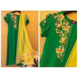 Bridal wear Ladies Trendy Cotton Suit