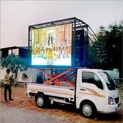 Waterproof P6 Full Color Outdoor Mobile Truck Advertising LED Display
