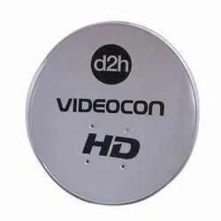 Videocon Satellite D2H Antenna Dish