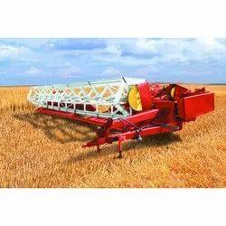 Combine Harvester Swath Grain Headers