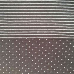 Knitted Garment Industry Fashionable Knit Fabric, Gsm: 110 - 300