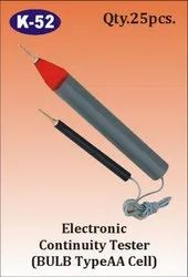 K-52 Electronic Continuity Tester (Bulb Type)