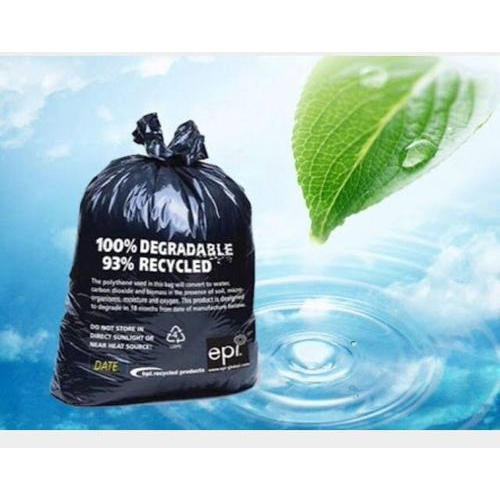 EPL Black Biodegradable Garbage Bag, Rs 80 /kilogram