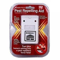Riddex Plus Ultrasonic Pest Repellent Device For Rodents, Ants, Rats, Cockroaches