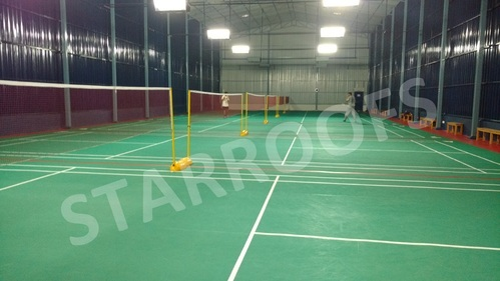 Indoor Badminton Court Roofing Fabrication