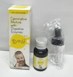 Carminative Mixture with Digestive Enzymes