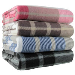 Cheque Acrylic Blankets
