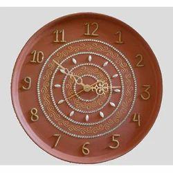 Clay Pearl Wall Clock