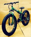 Audi Green Fat Tyre Foldable Cycle