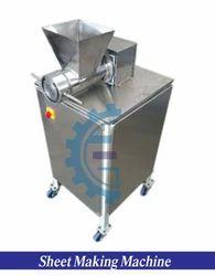 Gaurang Enterprise Semi Automachine Extruder Machine, For Making Sheet Of Material