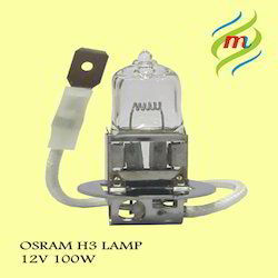 H3 12V 100W Osram Lamps
