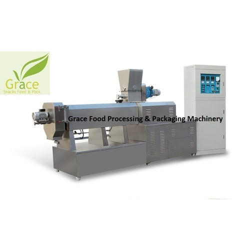 Double Screw Corn Puff Snacks Food Extruder - Grace Food Processing