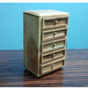 White Jewelry Box Decorative Four Five Drawers