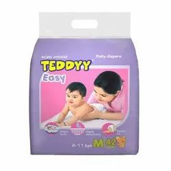 Cotton Teddyy Easy Baby Diapers, Age Group: Newly Born